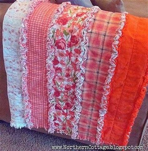 Rag Quilt Diy by Easy Rag Quilt Made In Strips Instead Of Squares