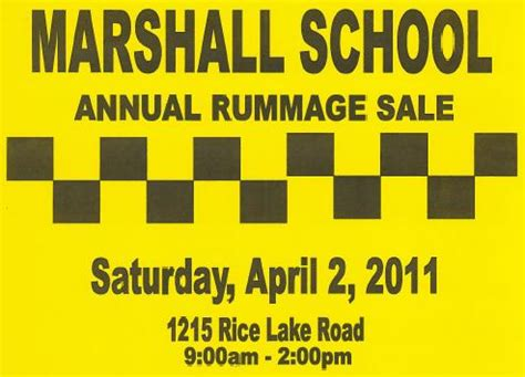 Duluth Garage Sales by Marshall High School Rummage Sale Duluth Day