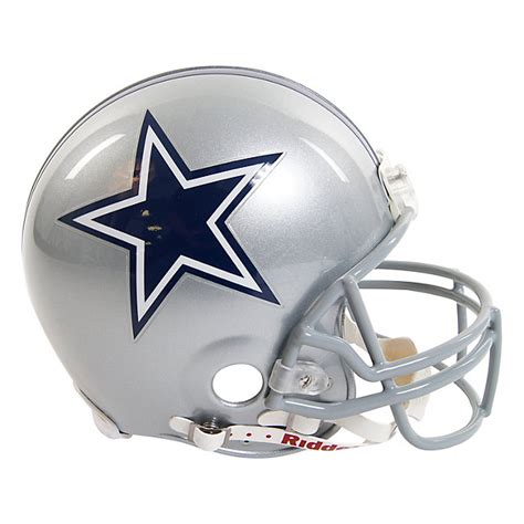 Nfl Home Decor by Dallas Cowboys Riddell Authentic Helmet Helmets