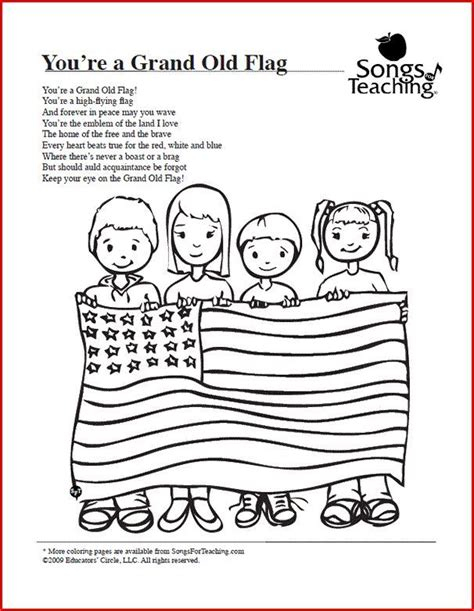 preschool coloring pages cing 307 best patriotic music lessons songs movement
