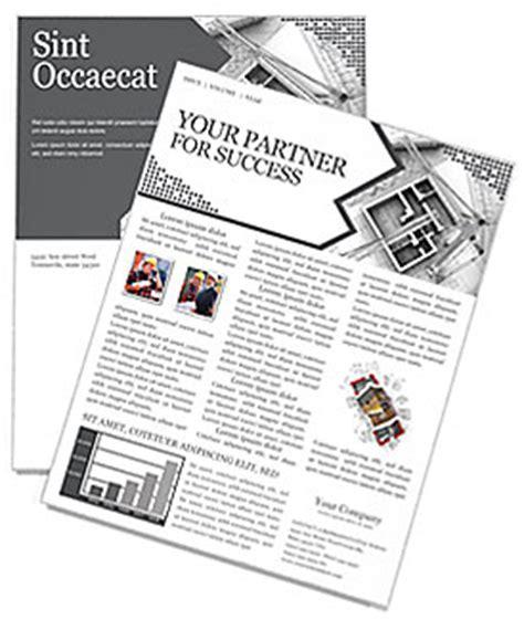 Building Planning Newsletter Template Design Id 0000000419 Smiletemplates Com Newsletter Planning Template