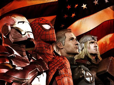 ultimate marvel marvel ultimate alliance 2 wallpaper gamebud