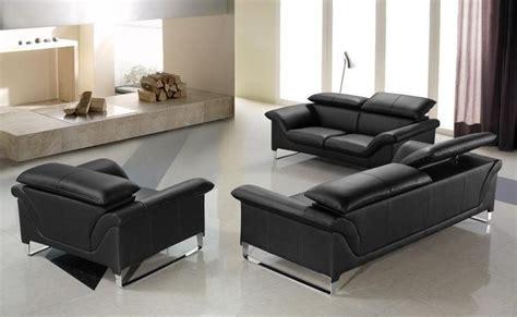 black contemporary sofa 20 inspirations contemporary black leather sofas sofa ideas