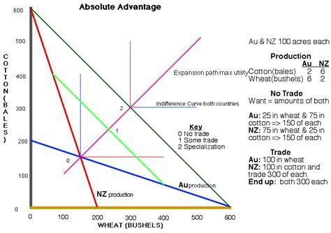 absolute and comparative advantage