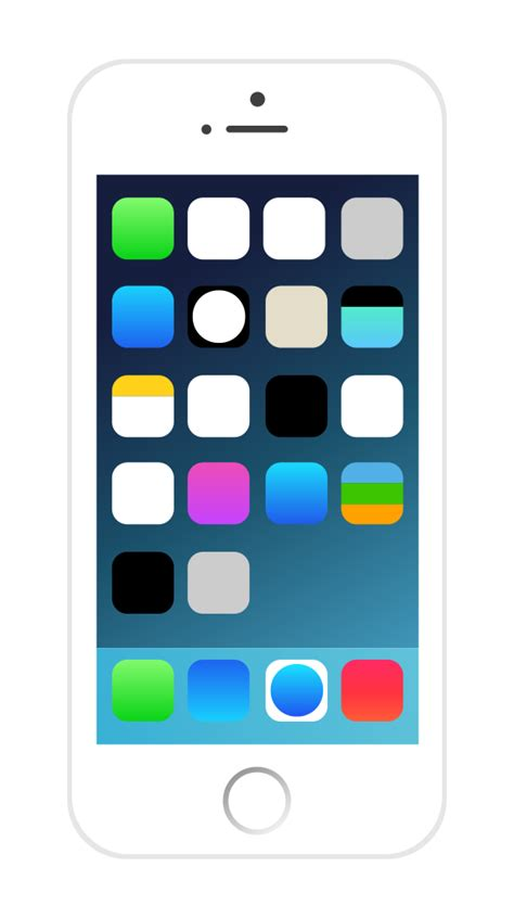 file iphone with icons svg wikimedia commons