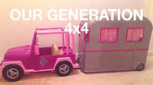 Our Generation Jeep And Cer How To Attach Trailer Hitch To Quot Our Generation 4x4 Quot