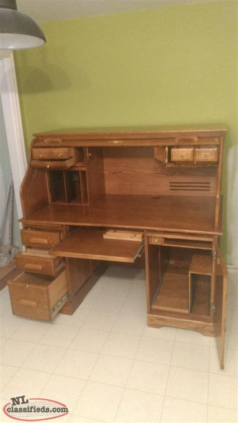 American Lifestyle Furniture by American Lifestyle Solid Oak Rolltop Desk Cbs Newfoundland