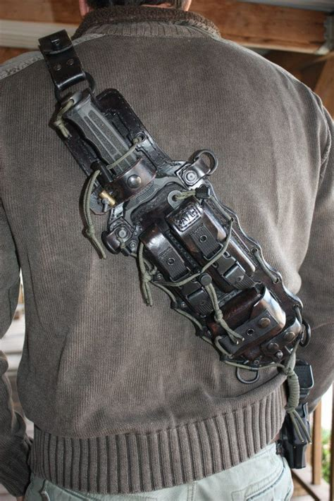 gun and knife holster tactical leather leather holster gaine de couteau gun