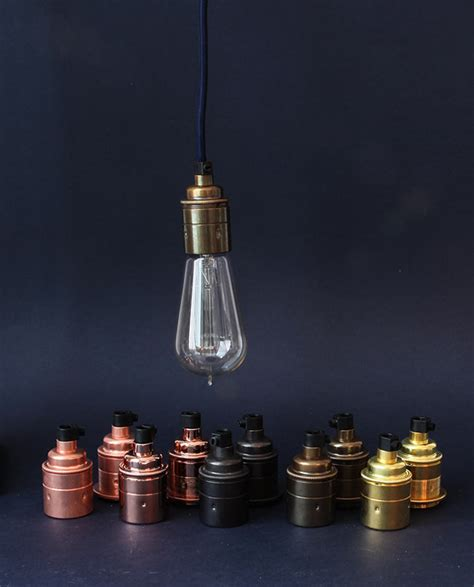Light Bulb Holder by How To Style Industrial Light Bulb Holders Dowsing