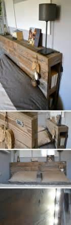 tete de lit en bois de recuperation home design