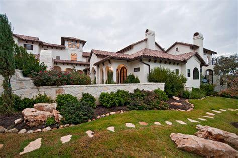 Modern Mediterranean House Plans Santa Barbara Style In Austin