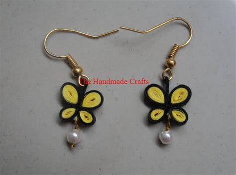 latest beautiful easy paper quilling earrings designs