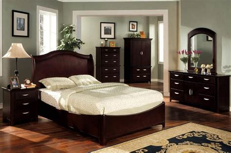 grey paint colors  bedroom  dark cherry furniture