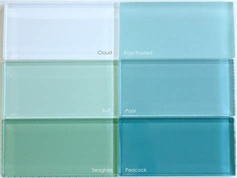 subway tile colors 33 best images about white and turquoise bathrooms on