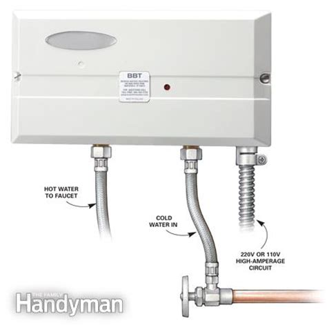 Point Of Use Water Heater For Shower by Choosing A New Water Heater The Family Handyman