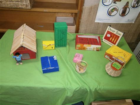themes zoo story dear zoo story table role play areas pinterest
