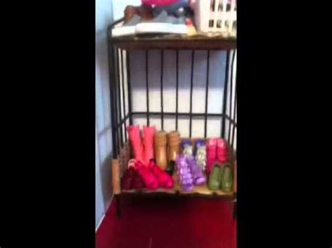 my barbie doll house tour my homemade barbie dollhouse tour youtube