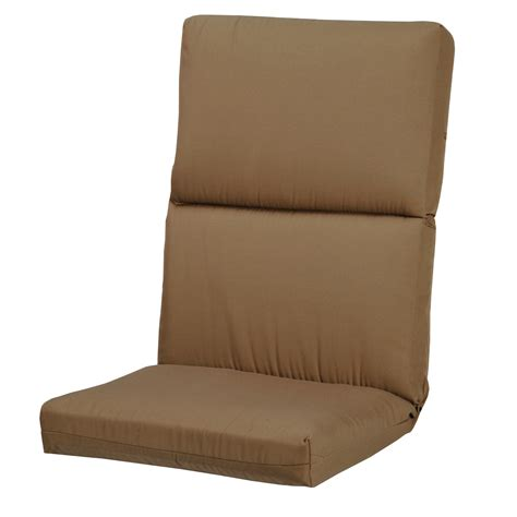 Patio Lounge Chair Cushions Astonica 50500050 Khaki High Back Patio Chair Or Lounge Chair Cushion Ebay