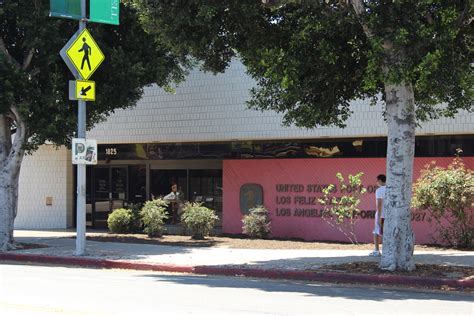 Los Feliz Post Office the brothers then and now