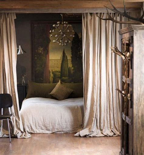 bed with curtains 30 brilliant ideas for your bedroom amazing diy
