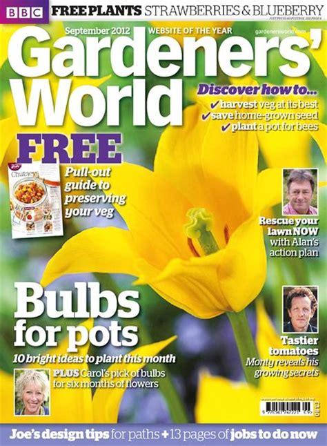 Gardeners World by Gardeners World Magazine September 2012 Pdf