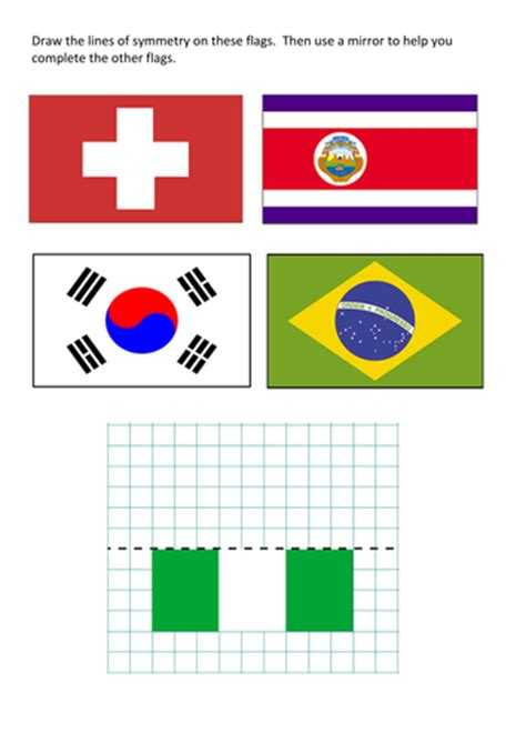 flags of the world ks2 olympic flags and symmetry by davidcarden teaching