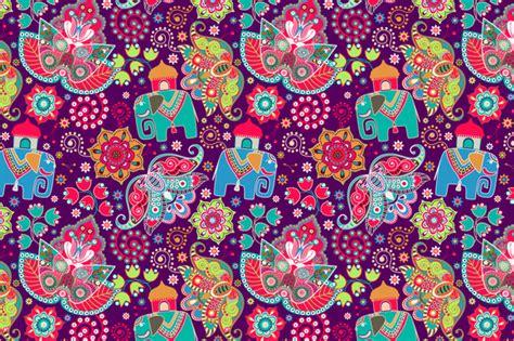 elephant pattern wallpaper indian elephant pattern wallpaper