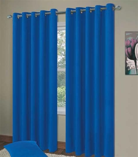 plain blue curtains bedroom plain blue colour thermal blackout bedroom livingroom