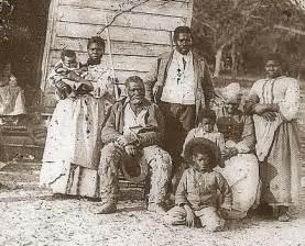 Slaves on southern plantation
