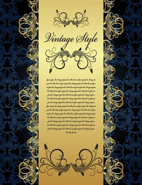 European Style Lace Pattern Vector Background   european style lace pattern vector background background
