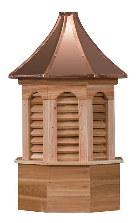 Octagonal Cupola octagonal louvers wood cupola