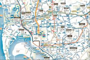 San Diego Bus Map by Directions Amp Maps