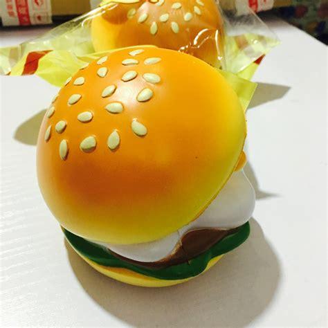 Squishy Burger squishystuff rising gudetama burger squishy mascot store powered by