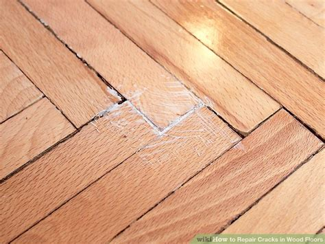 Hardwood Floor Repair by How To Repair Cracks In Wood Floors 8 Steps With Pictures