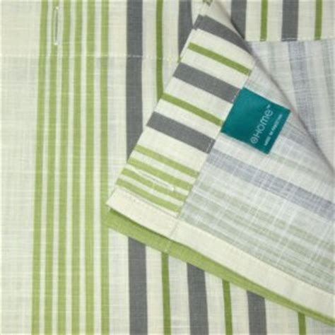 grey green shower curtain target home green stripe gray ivory fabric shower curtain