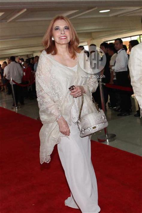 Dress Anak Fk Yellow Gold With Black Ribbon carpet 3 filipiniana takes centerstage at 2012 sona