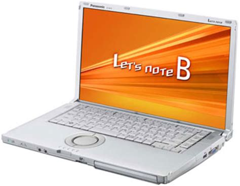Laptop Panasonic Lets Note Cf S9 panasonic rolls out the let s note b11 notebook upgrades the j10 netbook notebookcheck net news