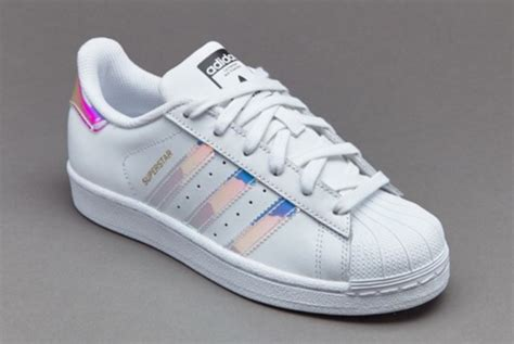 shoes adidas superstars metallic shoes white adidas silver wheretoget