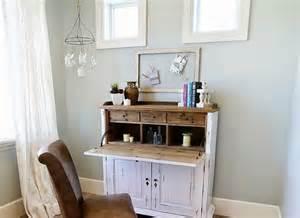 Barn Door Desk Remodelaholic Color Spotlight Silver Strand By Sherwin