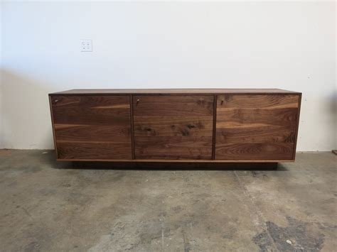 walnut credenza made walnut credenza by travis furniture