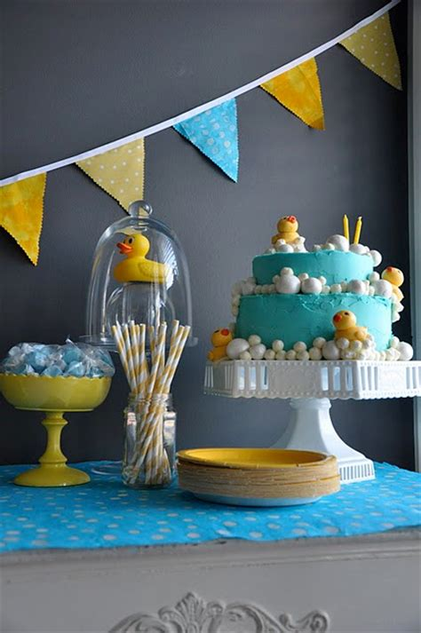 Rubber Duck Decorations by Frosting Rubber Ducky Baby Shower Ideas Inspiration