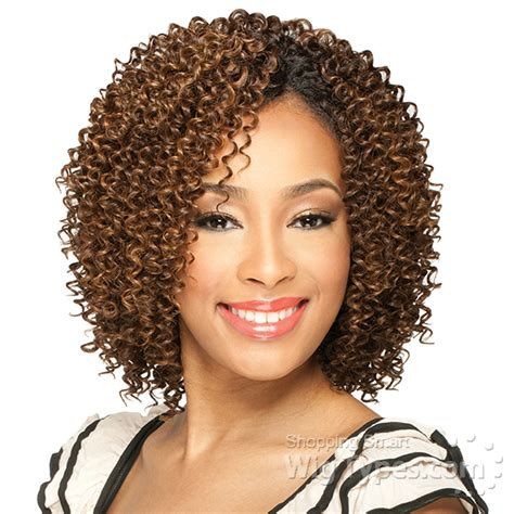 Short Cut Jerri Curl | milky way que human hair blend weave short cut series