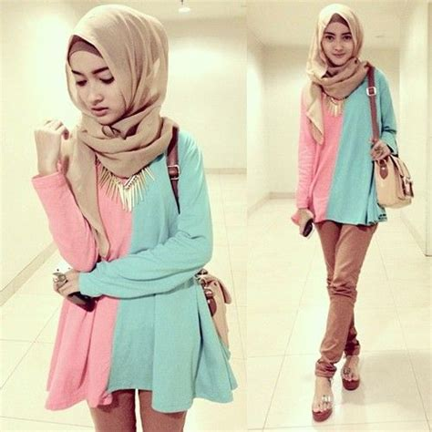 Dress Casual Box Blue Dress Anak Cakep Banget 17 best images about fashion on muslim turban style and striped turtleneck