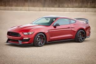 Ford Mustang Shelby Gt350 2017 Ford Shelby Gt350 Gets New Colors Equipment