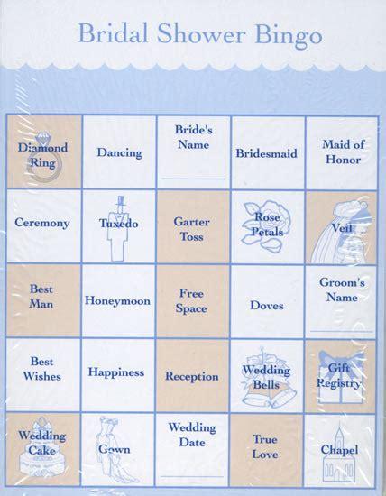 24 bridal shower bingo cards bridal shower