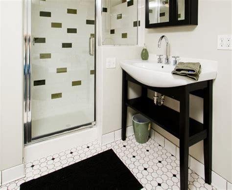 black and white floor tile bathroom 23 black and white octagon bathroom floor tile ideas and