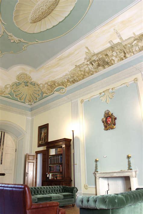 soffitti dipinti decorazioni classiche maurizio magretti affreschi