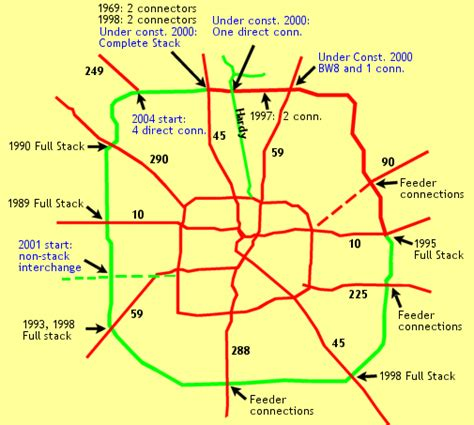 texas tollway map map of beltway 8 houston pictures to pin on pinsdaddy