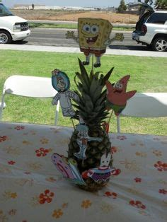 spongebob centerpiece decorations 1000 images about birthday ideas on