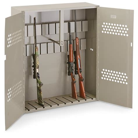 used gun cabinets for sale u s military surplus gun cabinet used 658553